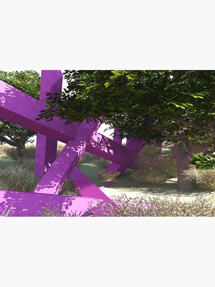 Violette Stöcke von Ruhnyiam