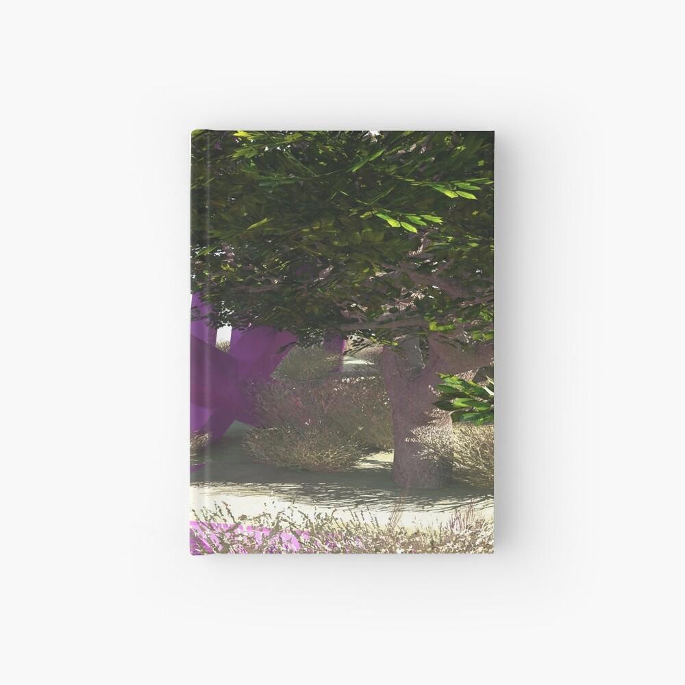 Violette Stöcke Notizbuch