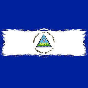 Nicaragua Protest Design Nicaraguan Flag no words by fermo