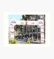 Giro d'Italia Arrival Art Print