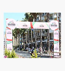 Giro d'Italia Arrival Photographic Print