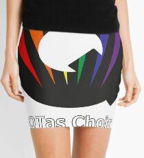 QTas Choir Logo (official choir performance shirt)  Mini Skirt