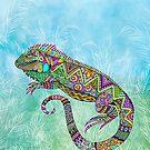 Electric Iguana by Tammy Wetzel