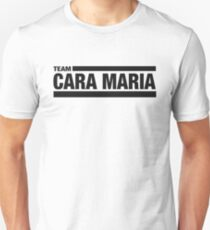 Team Cara Maria (Black) Unisex T-Shirt