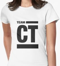 Team CT (Black) Women's Fitted T-Shirt