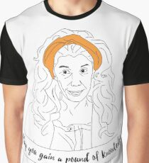 Grace and Frankie Pound of Knowledge Graphic T-Shirt