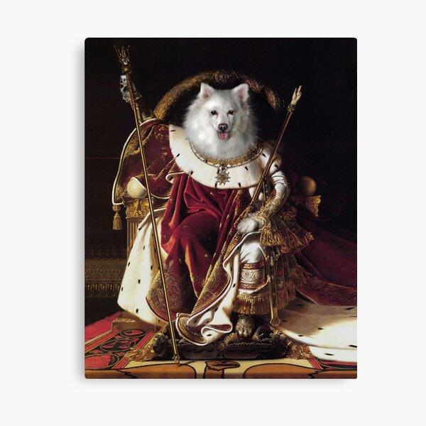 Dog Portrait - Napoleon Canvas Print