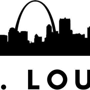 St. Louis Sticker by leanicolee