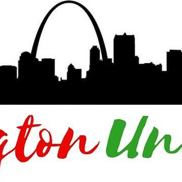 Washington University in St. Louis Sticker by leanicolee