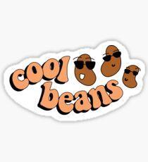 cool beans! Sticker