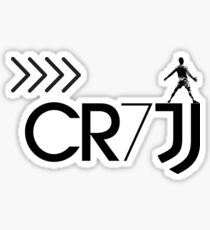 CR7JUVE Sticker
