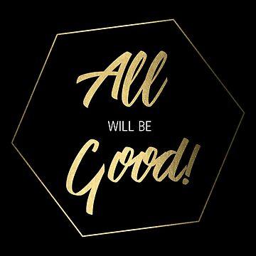 Inspiring Gifts for Entrepreneurs #5 - Gold on Black by SKKSdesign