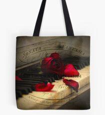 Sonata in Roses Tote Bag