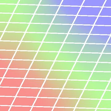 Pixel Rainbow Tiles by Zeeph