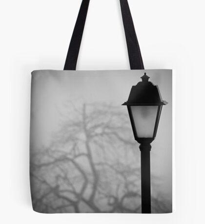 Lamp and Tree. Tote Bag