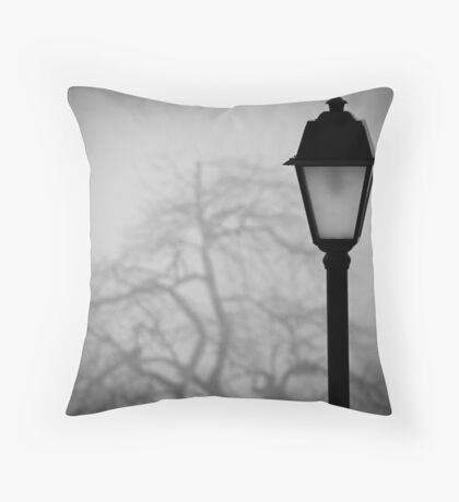 Lamp and Tree. Throw Pillow