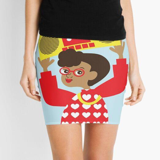 Trini Transistor Radio Mini Skirt