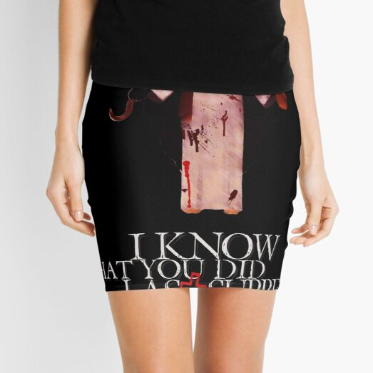 I Know What You Did Last Supper Mini Skirt
