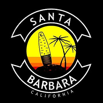 Santa Barbara California Surf  by styleuniversal