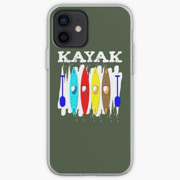Kayak T-shirt iPhone Soft Case