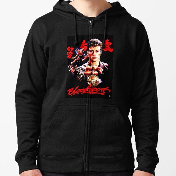 Bloodsport Movie IT/'S ACTION-PACKED Poster Adult Sweatshirt Hoodie