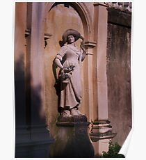 Woman statue Poster