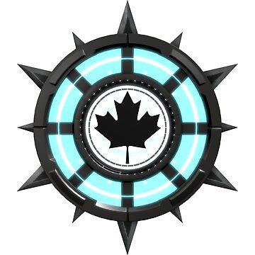Maple Leaf Canada Reactor Symbol by MapleWarrior
