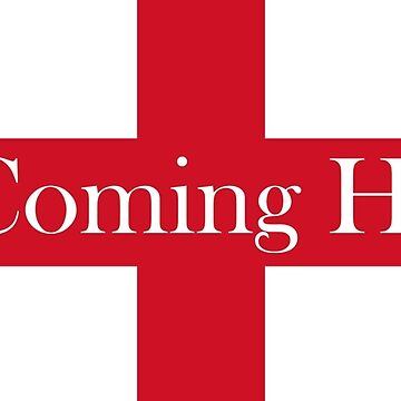 World Cup England It's Coming Home Design by Football-Tees