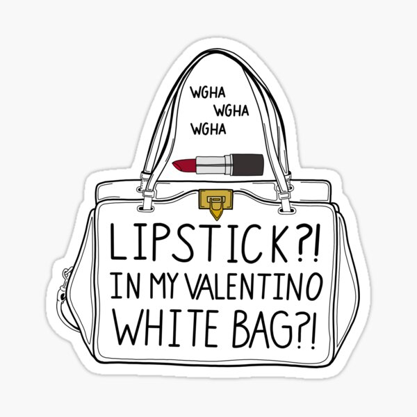 Lipstick?!?! Sticker