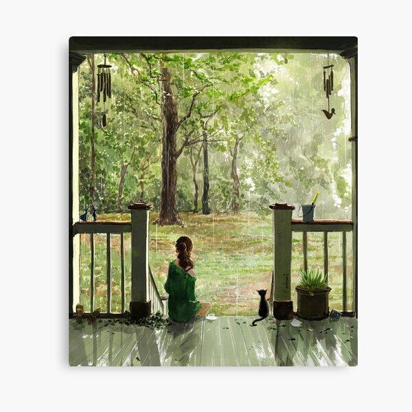 gentle rain Canvas Print