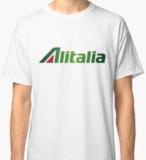 Camiseta clásica Logotipo de Alitalia