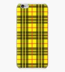 Gelbes Plaid iPhone-Hülle & Cover