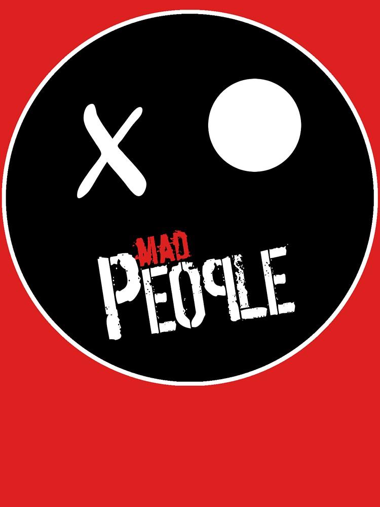 Mad People, logotipo - Banda de rock española de jestrella