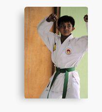 Karate Kid Canvas Print