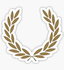 fred perry Sticker