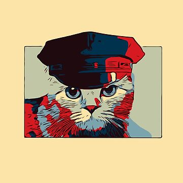 Pop Art Police Cat by House-of-Roc