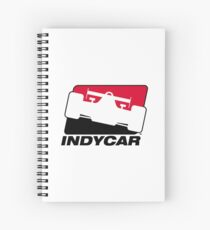 indycar racing Spiral Notebook