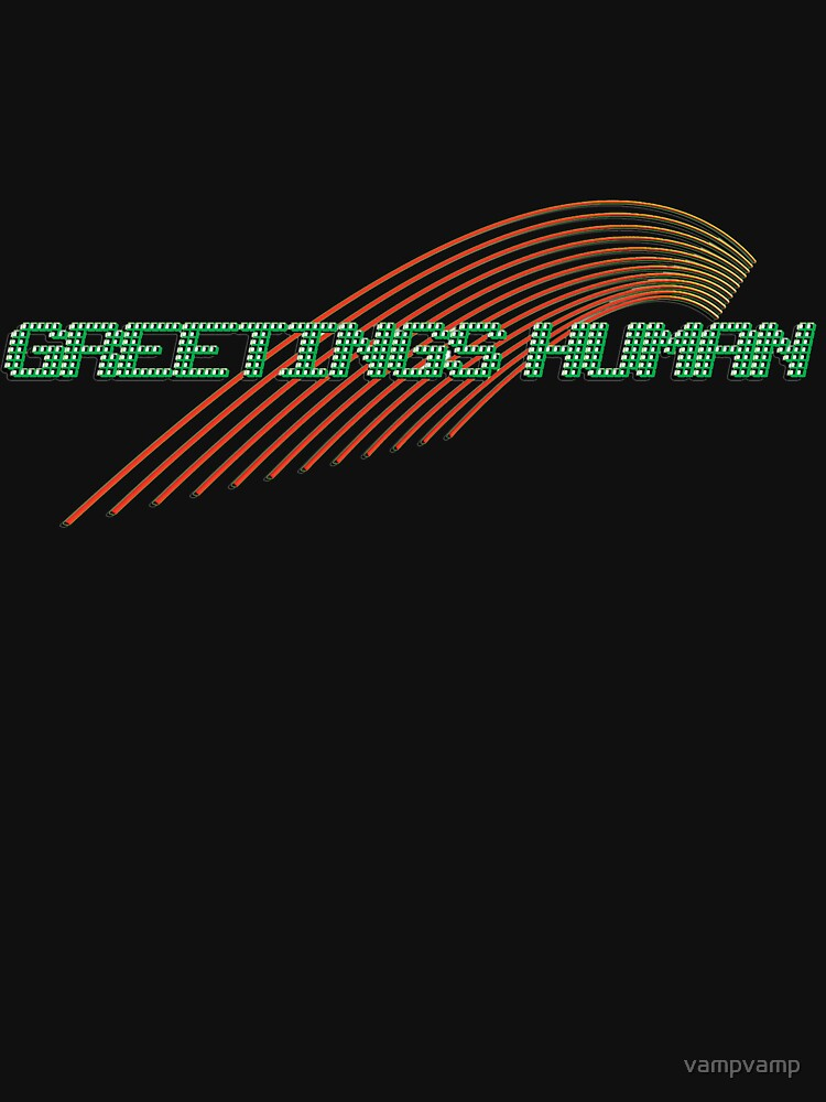 greetings human by vampvamp