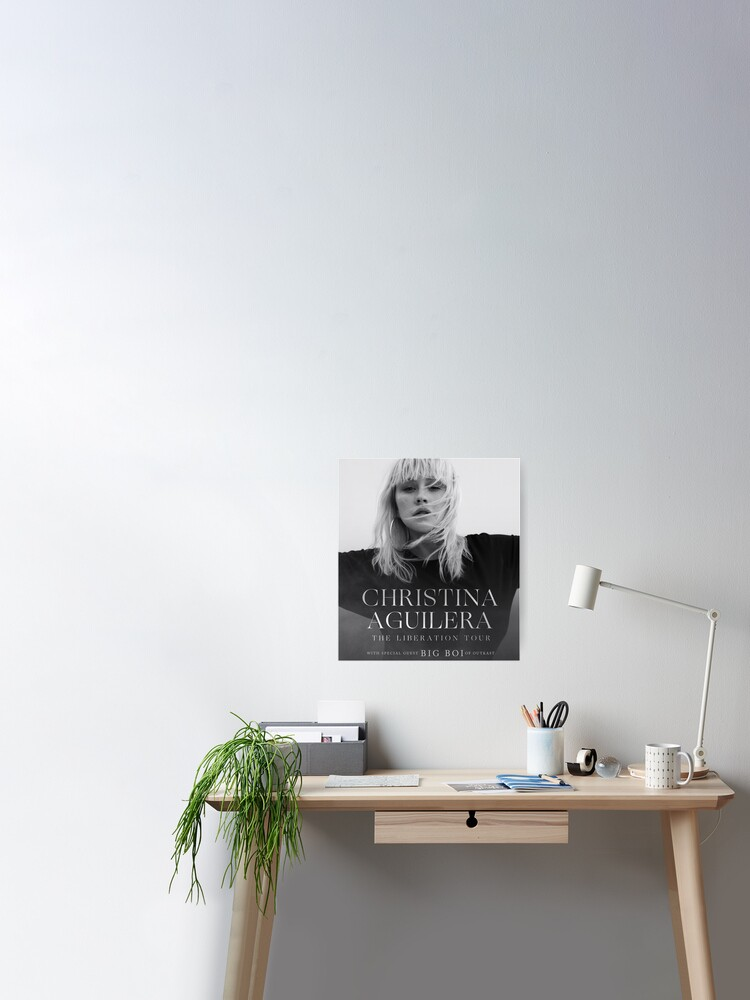 Christina Aguilera The Liberation Tour New Custom Art Poster Print Wall Decor
