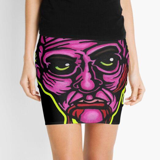 Pink Zombie - Die Cut Version Mini Skirt