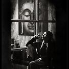 Chillin with Buddha by fred  funkeldink