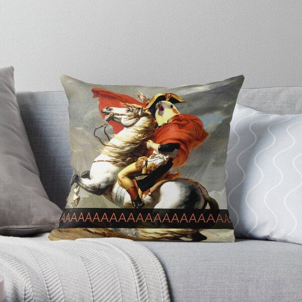 Napoleon birb  Throw Pillow