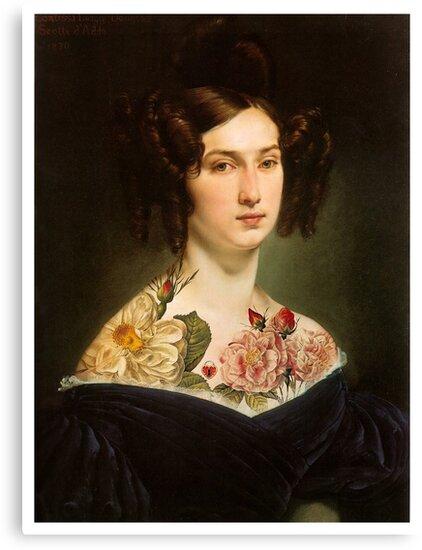 Hearts & Flowers by Margaret Orr