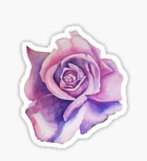Blue Moon Rose Sticker