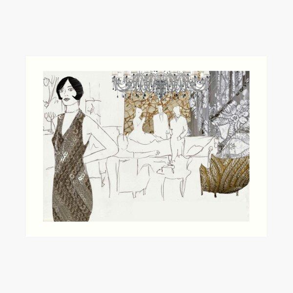 Large Parties Art Print