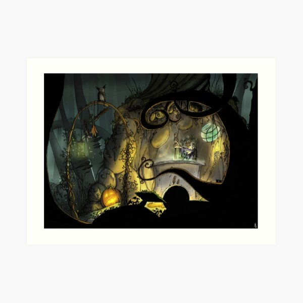 Forrest Witch Brewery Art Print