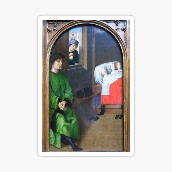 Three Legends of St Nicholas ( no 2 ) Sticker