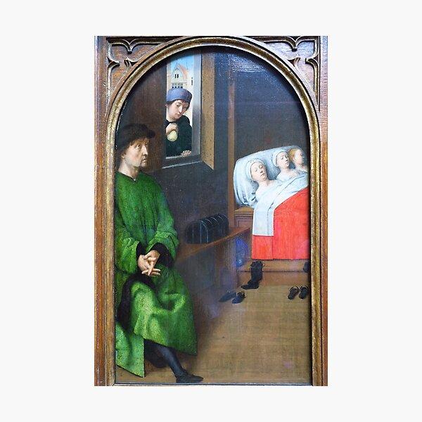 Three Legends of St Nicholas ( no 2 ) Photographic Print