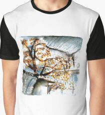Rainy Chinese Trees Graphic T-Shirt
