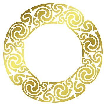 Celtic Circle - Gold! by timothybeighton
